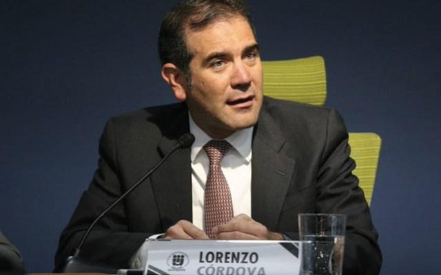 INE cuenta con rutas legales para devolver presupuesto: Córdova Vianello - Foto de Twitter INE