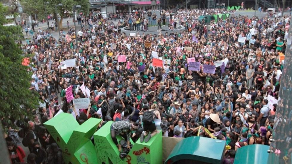 Al menos seis manifestaciones este sábado en la Ciudad de México - manifestaciones