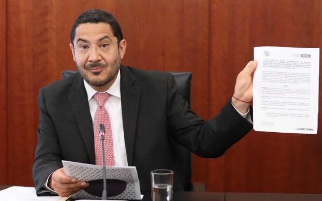 Monreal es faccioso y una persona que no tiene credibilidad: Martí Batres - Morena invalida elección mesa directiva del senado martí batres