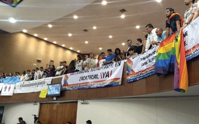 Congreso de Zacatecas rechaza matrimonio igualitario - Foto de El Financiero