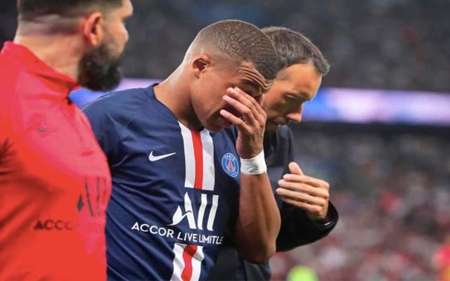 PSG pierde a Mbappé y Cavani por lesión - Mbappé Cavani PSG