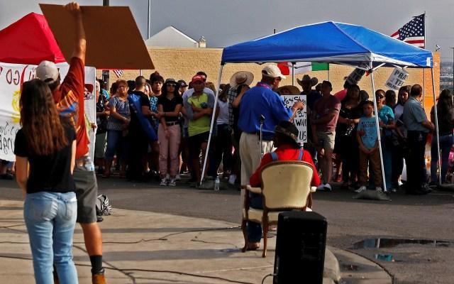 Mexicanos evitan viajar a El Paso ante el temor de nuevos ataques - Foto de EFE/ EPA/ LARRY W. SMITH.