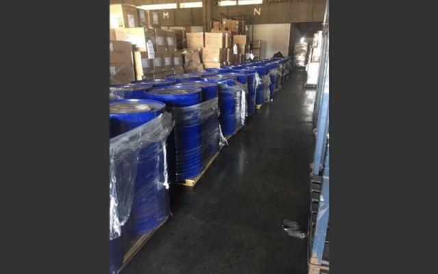 Aseguran en Michoacán más de 34 toneladas de narcóticos - Foto de FGR