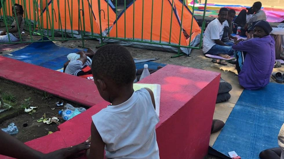 Aumentan las solicitudes de refugio en México - Migrantes africanos Chiapas México