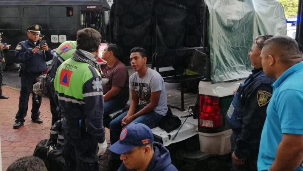 Rescatan 19 migrantes en hotel de la Ciudad de México
