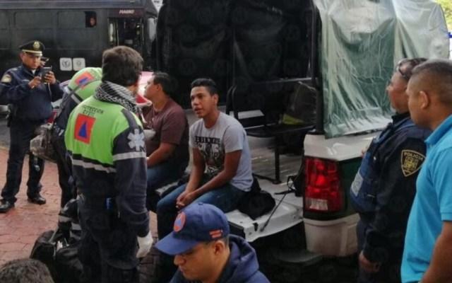 Rescatan a 19 migrantes en hotel de la Ciudad de México - migrantes hotel gam