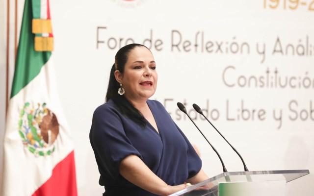 Elección de senadores de Morena fue transparente: Fernández Balboa - Mónica Fernández Balboa elección mesa directiva del senado morena
