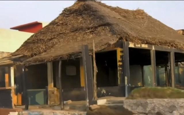 Ataque a bar es el sexto incendio a negocios de Coatzacoalcos - Negocio incendiado en Coatzacoalcos. Captura de pantalla