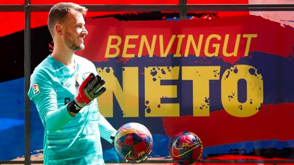 Operarán de la mano izquierda a Neto, portero del Barcelona - Neto