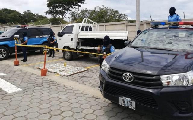 Decomisan más de 83 kilos de cocaína oculta en camión en Nicaragua - Nicaragua decomiso droga cocaína 2