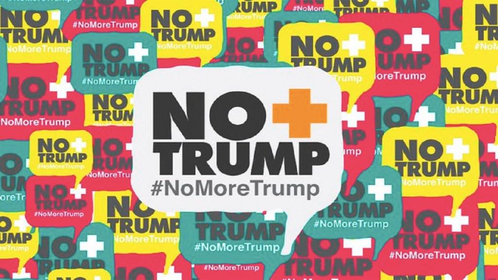 """Continúa campaña """"No más Trump"""" pese a contactos entre Venezuela y EE.UU.. Noticias en tiempo real"""