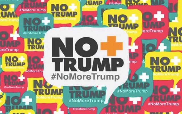 """Continúa campaña """"No más Trump"""" pese a contactos entre Venezuela y EE.UU. - no más trump venezuela estados unidos"""