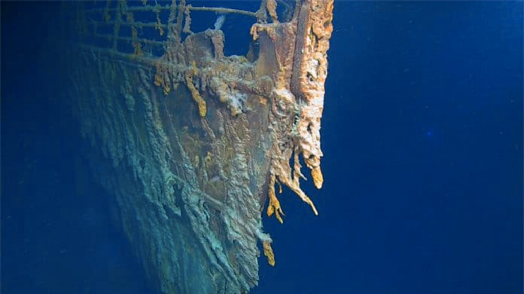 Fotografían los restos del Titanic por primera vez en 14 años. Noticias en tiempo real