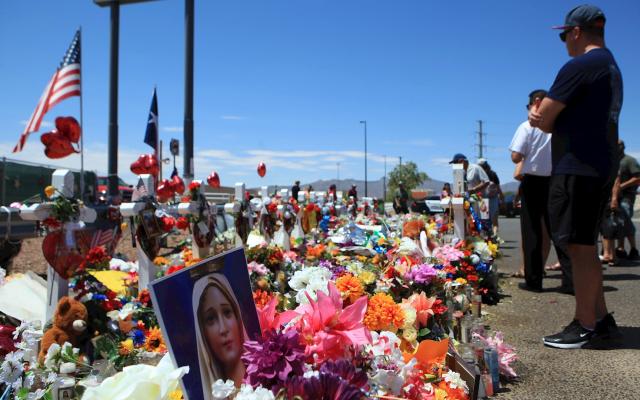Terrorismo en El Paso - Ofrenda tras tiroteo en El Paso, Texas