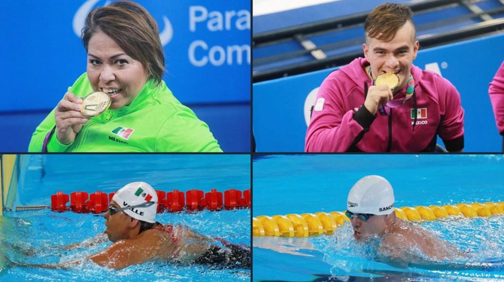 Gustavo Sánchez y Patricia Valle ganan oro en natación en Parapanamericanos 2019 - Parapanamericanos