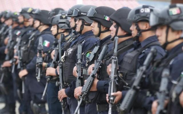 Vigilan 380 agentes Uruapan tras asesinato de 19 personas - Foto de Gobierno de Michoacán