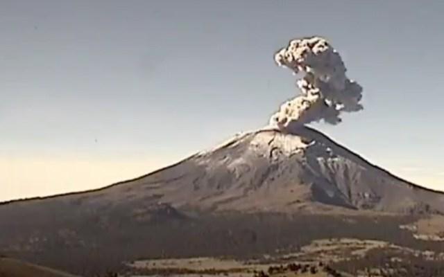 #Video Popocatépetl presenta dos explosiones en menos de una hora - popocatéptl