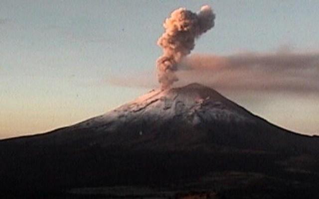 Popocatépetl emite columna de ceniza de 2.5 kilómetros - Popocatépetl