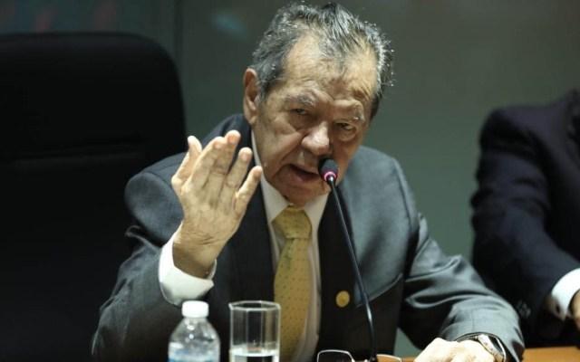 """La 4T ha hecho posible una genuina división de poderes"": Muñoz Ledo - Porfirio Muñoz Ledo Presidente Cámara de Diputados"