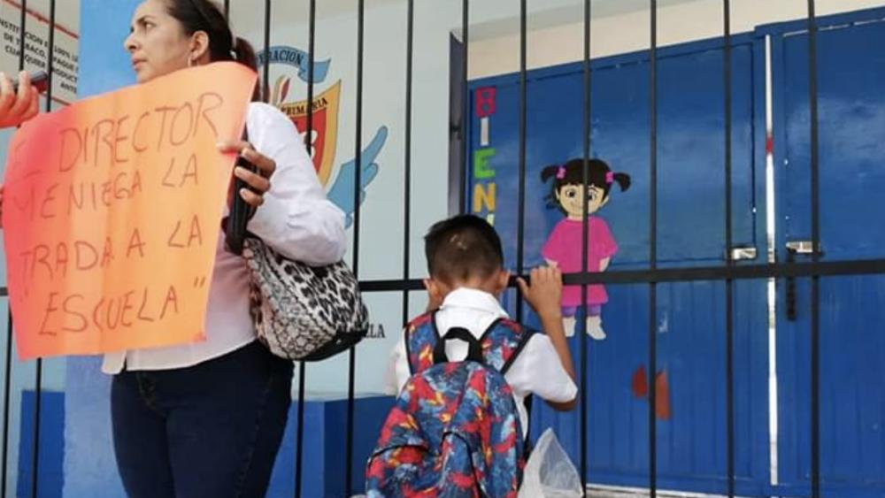 Sancionarán a director de escuela que exigió cuotas a padres en Tamaulipas - Foto de @LuciernagaParra
