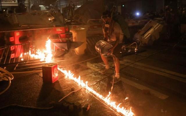 Decimotercer fin de semana consecutivo de protestas en Hong Kong - protestas hong kong