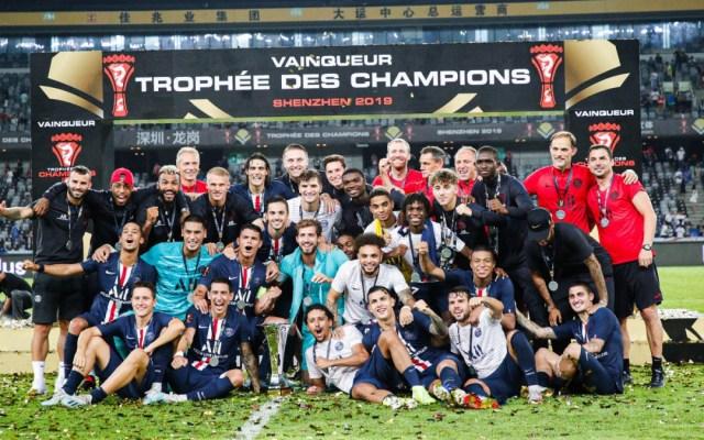 PSG se corona campeón de la Supercopa de Francia - psg supercopa