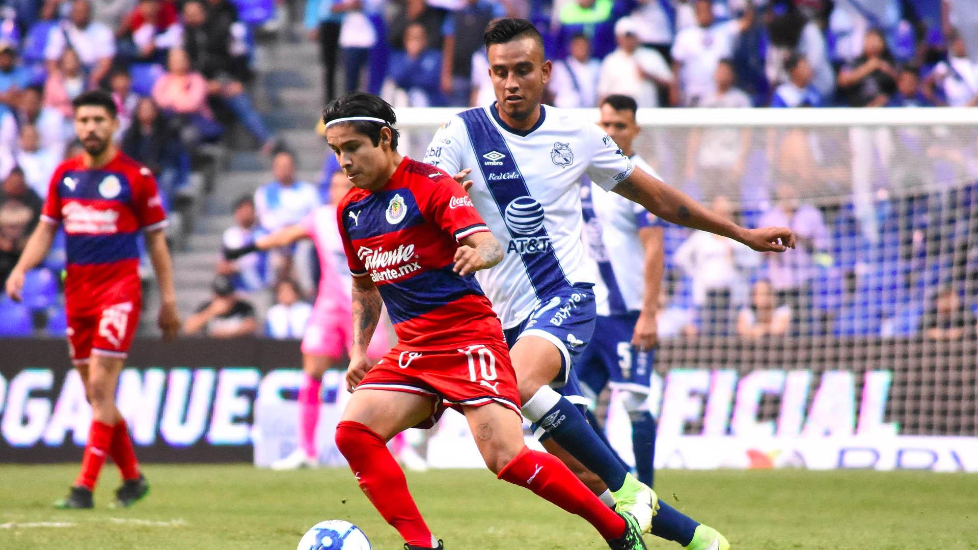 Puebla Chivas partido Liga MX