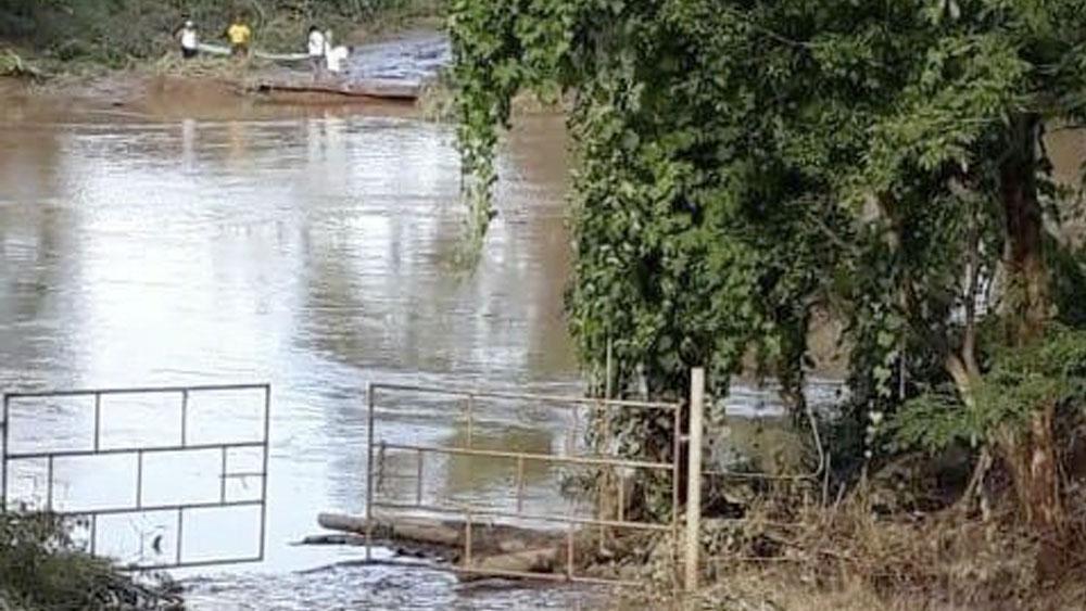 Colapsa puente tras lluvias en Veracruz - puente veracruz lluvias