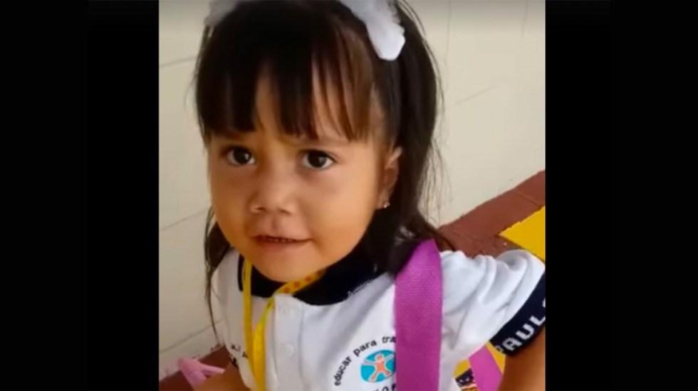 #Video Niña de kínder cuenta con humor cómo le fue en el regreso a clases - regreso a clases
