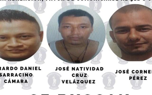 Se fugan tres reos de penal en Macuspana - Foto de Secretaría de Seguridad Tabasco