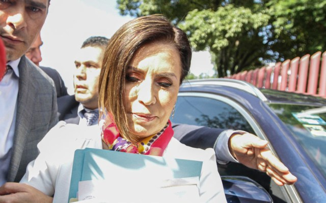 Vinculan a proceso a Rosario Robles; será recluida en Santa Martha - rosario robles