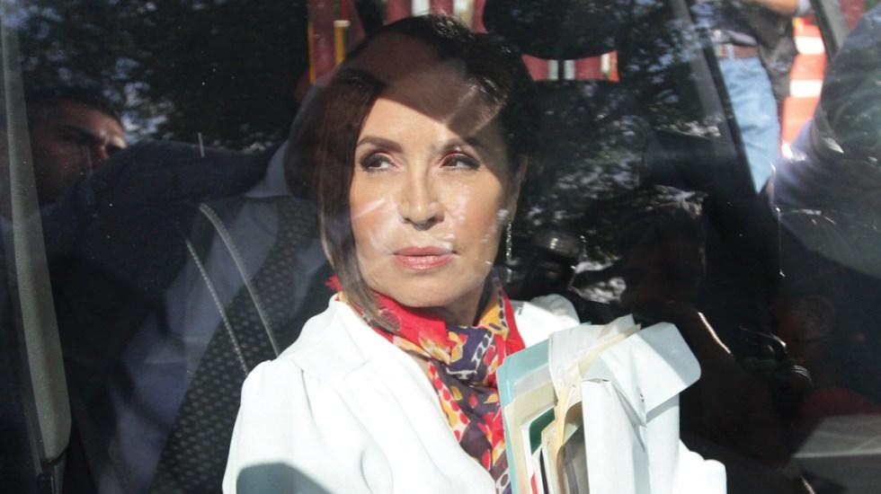 Trasladan a Rosario Robles al Reclusorio Sur para audiencia - rosario robles