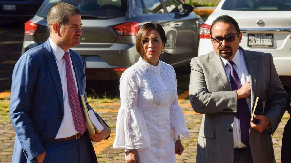 Juez niega a Rosario Robles acceso a sus cuentas bancarias - Rosario Robles Reclusorio juicio