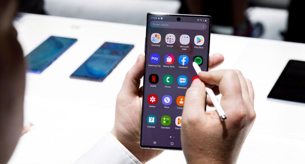 Samsung presenta el Galaxy Note 10 - samsung
