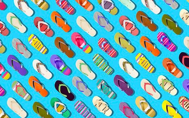 #RetoViral ¿Puede encontrar la berenjena entre las sandalias? - Imagen de Gala Bingo