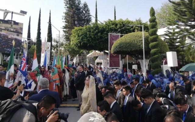 Iglesia La Luz del Mundo enaltece a su líder en festejos cargados de polémica - Foto de @sgr_94