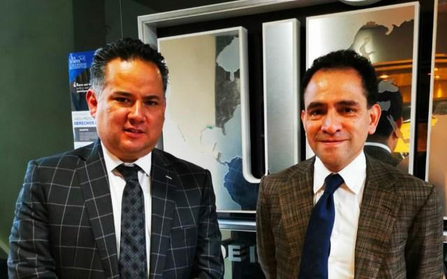 Revisan Arturo Herrera y Santiago Nieto casos relevantes de la UIF - santiago nieto