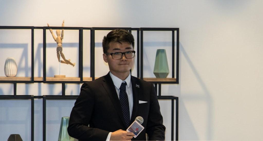 Detienen en China a empleado de consulado británico en Hong Kong - Simon Cheng, empleado del consulado británico en Hong Kong. Foto de Instituto de Desarrollo Económico de la Ruta de la Seda