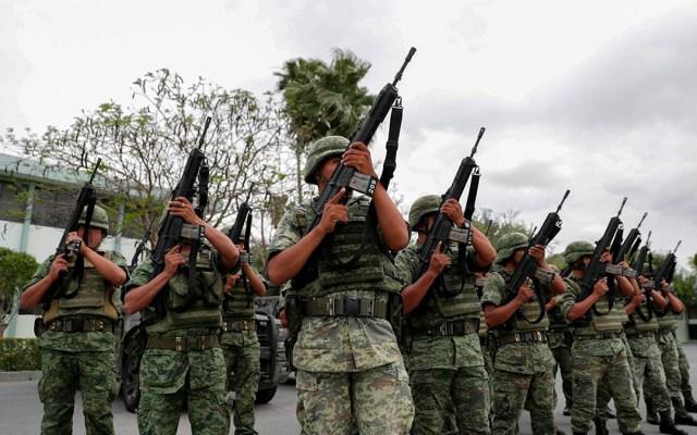 Soldados abaten a cinco delincuentes y aseguran vehículo en Reynosa - soldados abaten a cinco delincuentes en reynosa