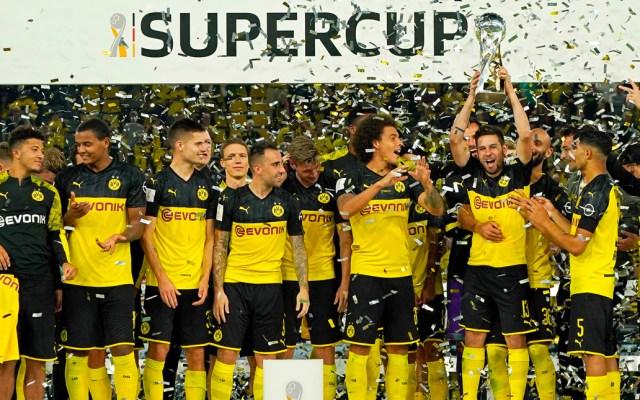 #Video Dortmund campeón de la Supercopa de Alemania - dortmund