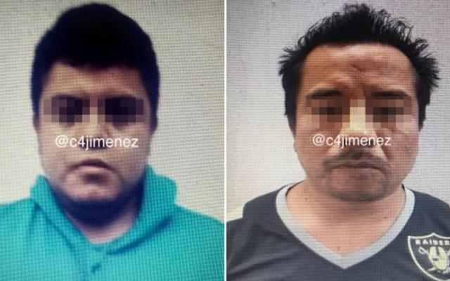 Detienen a taxistas por robo y violación en la Ciudad de México - Taxistas detenidos por robo y violación a pasajeros. Foto de @c4jimenez
