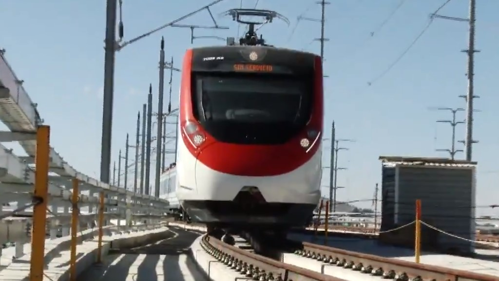 Entregan 500 mdp a la Ciudad de México para el Tren Interurbano - Tren Interurbano México-Toluca. Foto de SCT