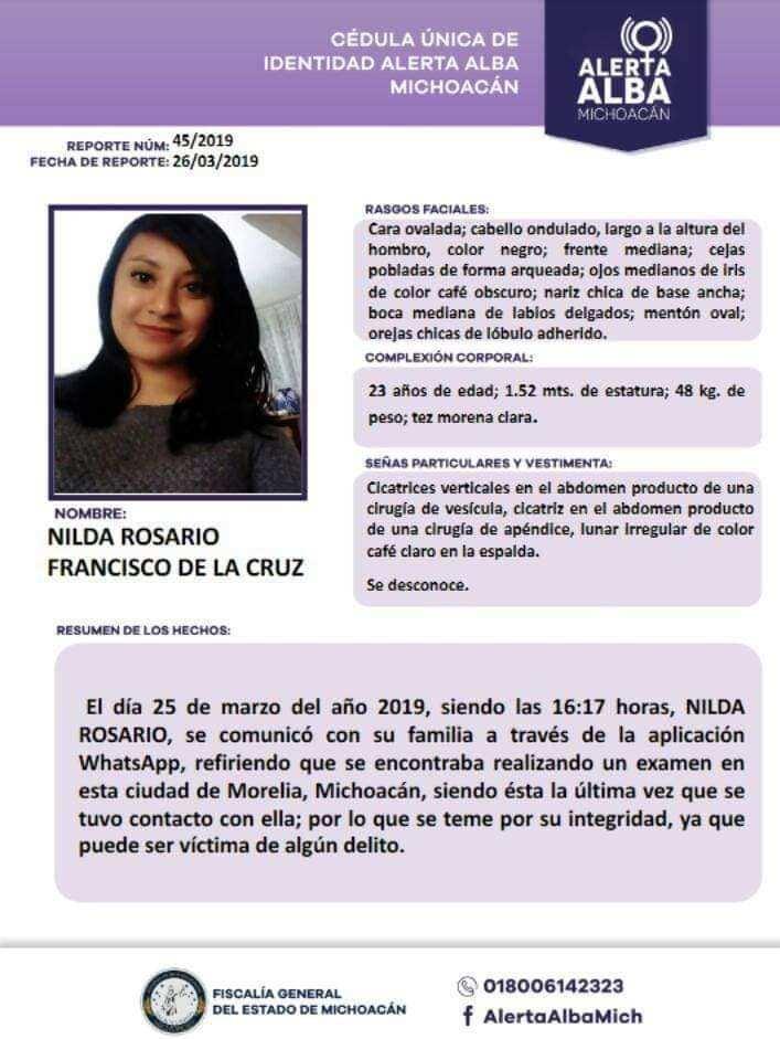 veterinaria desaparecida michoacan