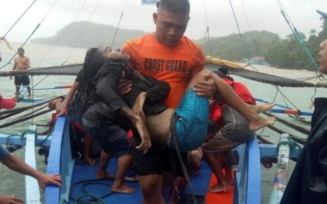 Mueren 31 personas por naufragios en Filipinas - Víctima de naufragios en Filipinas. Foto de EFE