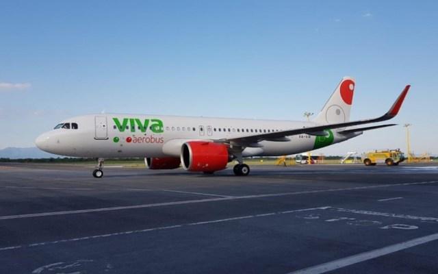 Avión de Viva Aerobús sufre falla en un motor tras partir de Monterrey - Viva Aerobús avión