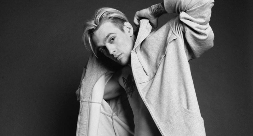 Hermano de miembro de los Backstreet Boys sufre esquizofrenia y ansiedad - Aaron Carter