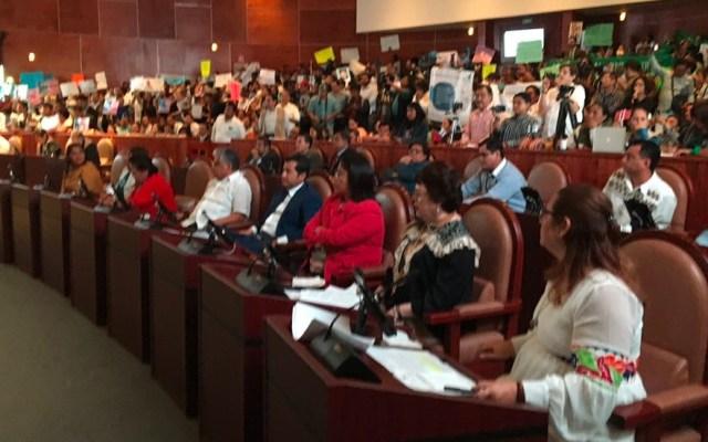 Oaxaca, la segunda entidad del país en despenalizar interrupción del embarazo - Foto de Twitter/@jorgemoralesoax