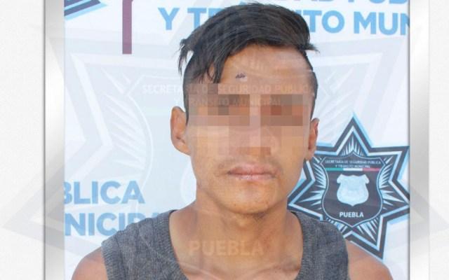 Detienen a hombre que intentó robar a menor de 2 años en Puebla - acosador puebla