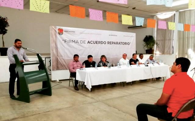Firman acuerdo reparatorio en beneficio de periodistas en Chiapas - acuerdo reparatorio periodistas chiapas
