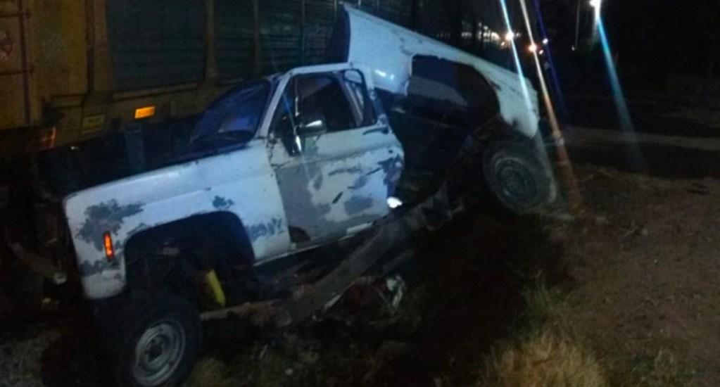 Muere conductor de la tercera edad por intentar ganarle el paso al tren. Noticias en tiempo real